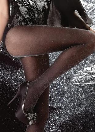 Женские колготки с люрексом gatta