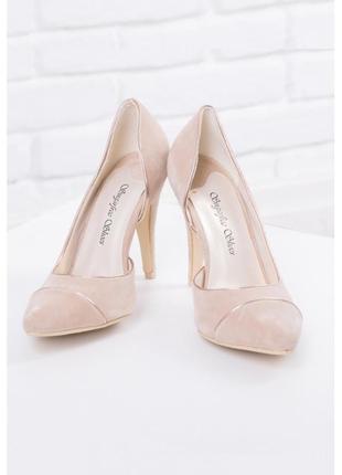 Туфли бежевые sugarfree shoes