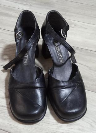 Тренд туфли с квадратным носком
