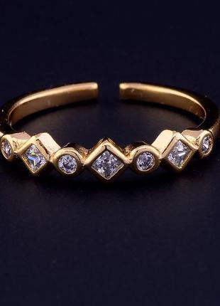 Брендовая ювелирная бижутерия xuping jewelry на каждый день! новое колечко,позолота