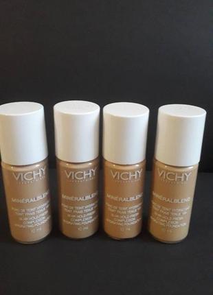 Vichy mineralblend cream тональный крем.