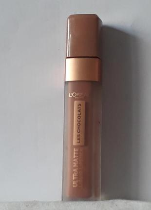 L'oreal ultra matte liquid lipstick ультра-матовая жидкая помада для губ