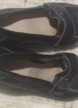 Удобные кожаные туфли