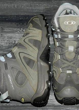 Salomon gore-tex ! оригинальные, кожаные, невероятно крутые термо ботинки