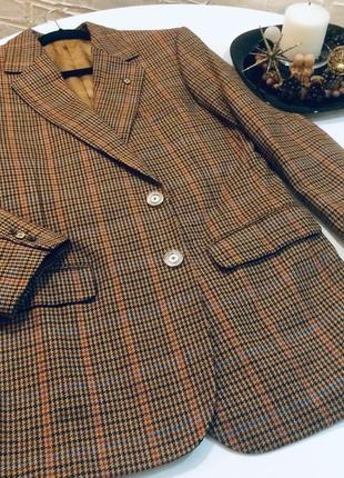 Винтажный пиджак 80-х годов, англия