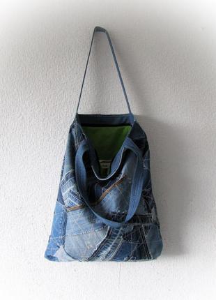 Джинсовая сумка 04