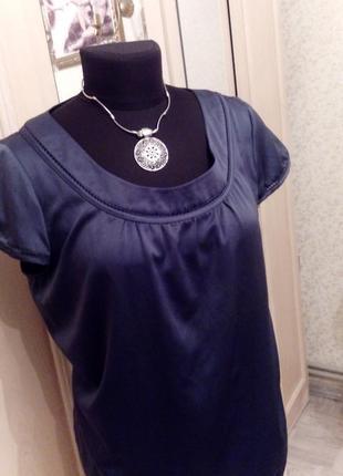Блузка красивого синего цвета