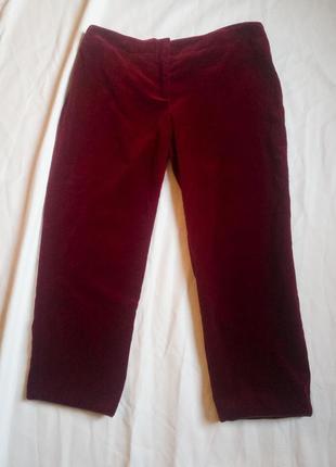 Укороченные брюки mcqueen
