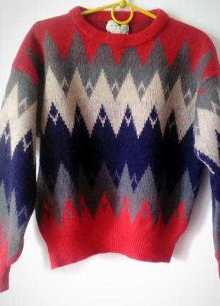 Винтажный шерстяной свитер от benetton