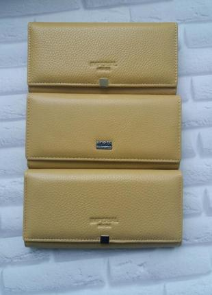 Женский кожаный кошелек из натуральной кожи шкірчний жіночий гаманець