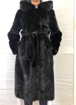 Норковая шуба blackglama, 42-44