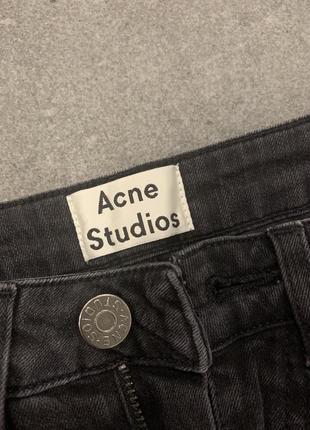 Скинни джинсы acne studios