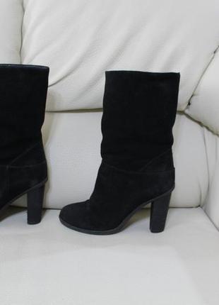 Замшевые зимние высокие ботинки wildcat
