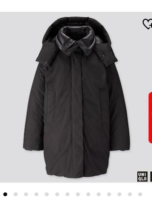 Uniqlo u куртка, пуховик, зима куртка