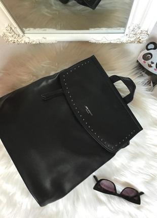 Стильный городской рюкзак сумка-трансформер эко-кожа