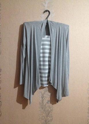Стильний кардиган обманка /блуза/м