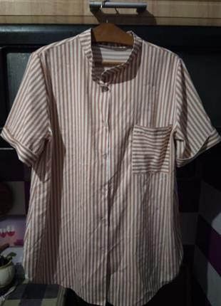 Летняя удлиненная рубашка