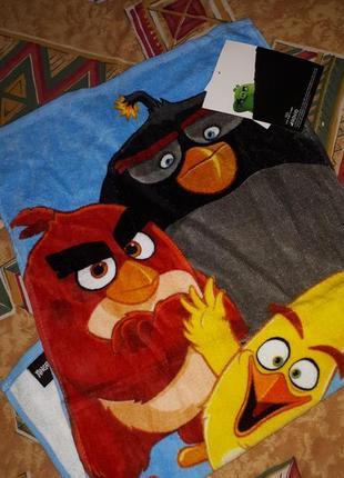 Яркое красивое полотенце злые птицы angry birds disney