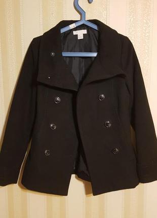 H&m пальто полупальто демисезонное