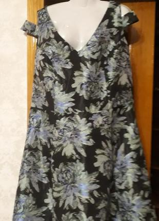 Платье  новое большого размера батал 60-62