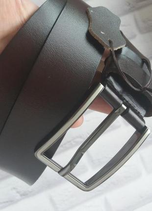 Мужской кожаный ремень из натуральной кожи шкіряний чоловічий ремінь пояс