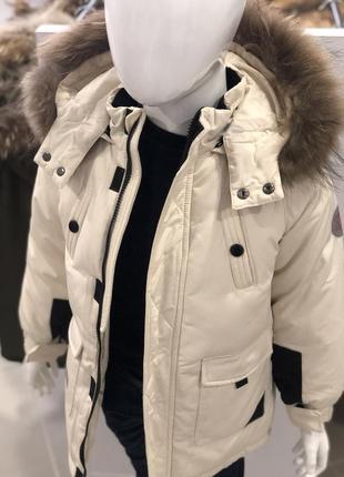 Стильная куртка для мальчика зимняя ❤️