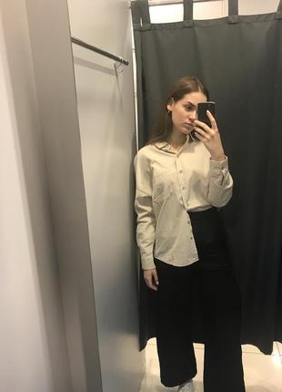 Рубашка из вельвета ostin