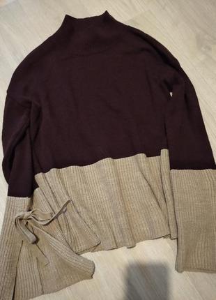 Брендовый свитер акрил