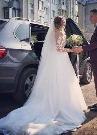 Весільна сукня {плаття} бренд milla nova