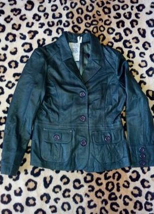 Кожаная куртка. xl. tom tailor.