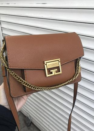 Кожаная сумка сумка кожаная через плечо кроссбоди givenchy