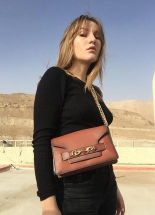 Кожаная сумка rebecca minkoff