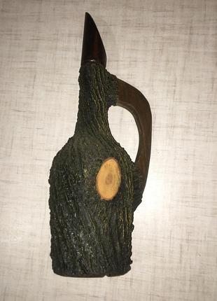 Емкость деревянная для спиртного { под вино} 0,75л