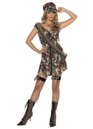 Платье - халат от костюма солдата