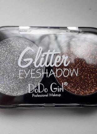 Тени для век dodo girl glitter eyeshadow