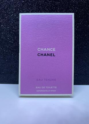 Chanel chance eau tendre пробник 1,5 мл