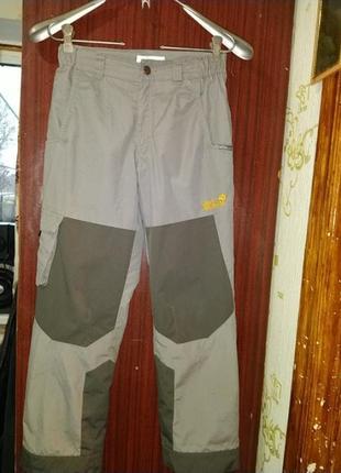 Детские лыжные штаны jack wolfskin