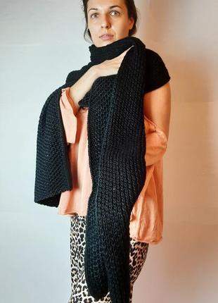 Вязанные шарф zara