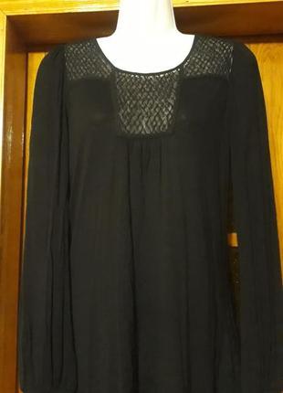 Блуза туника гольфик натуральная новая 44-46 размера