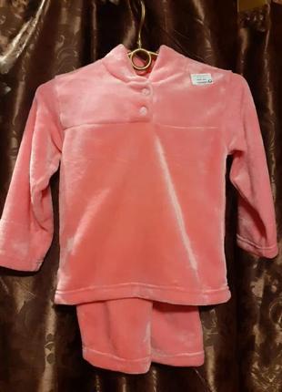 Велюровая пижамка