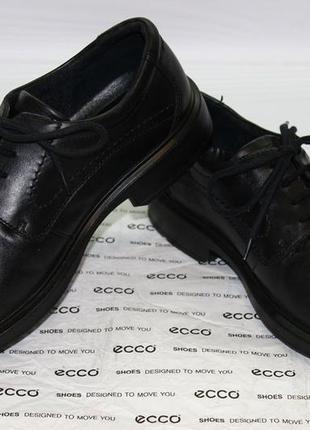 Туфли ecco berlin goretex оригинал. размер 43.