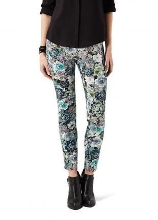 #розвантажуюсь брюки reserved со стрелками из в цветочный принт штаны в цветы