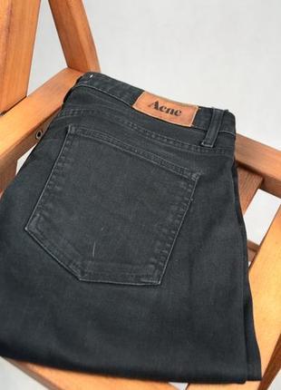 Acne джинсы черные размер 33