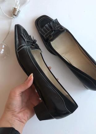 Шикарные стильные туфли с квадратным носком enzo poli pp 41-42