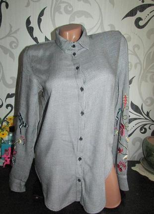 Замечательная рубашка с вышивкой