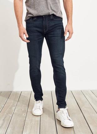 Новые джинсы hollister super skinny