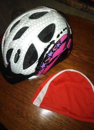 Фирменный велошлем uvex hero германия + подарок шапочка