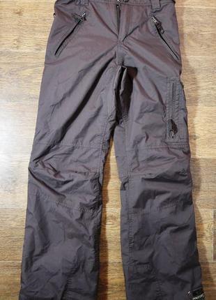 Фирменные теплые лыжные штаны