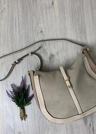 Нежная нюдовая сумочка