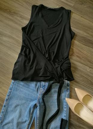 Дизайнерская блуза-майка uli schneider